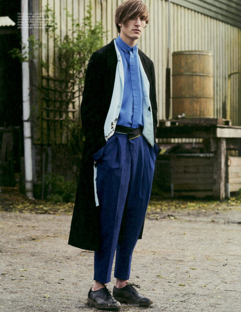 Tim Dibble Vogue man Nederland SS17