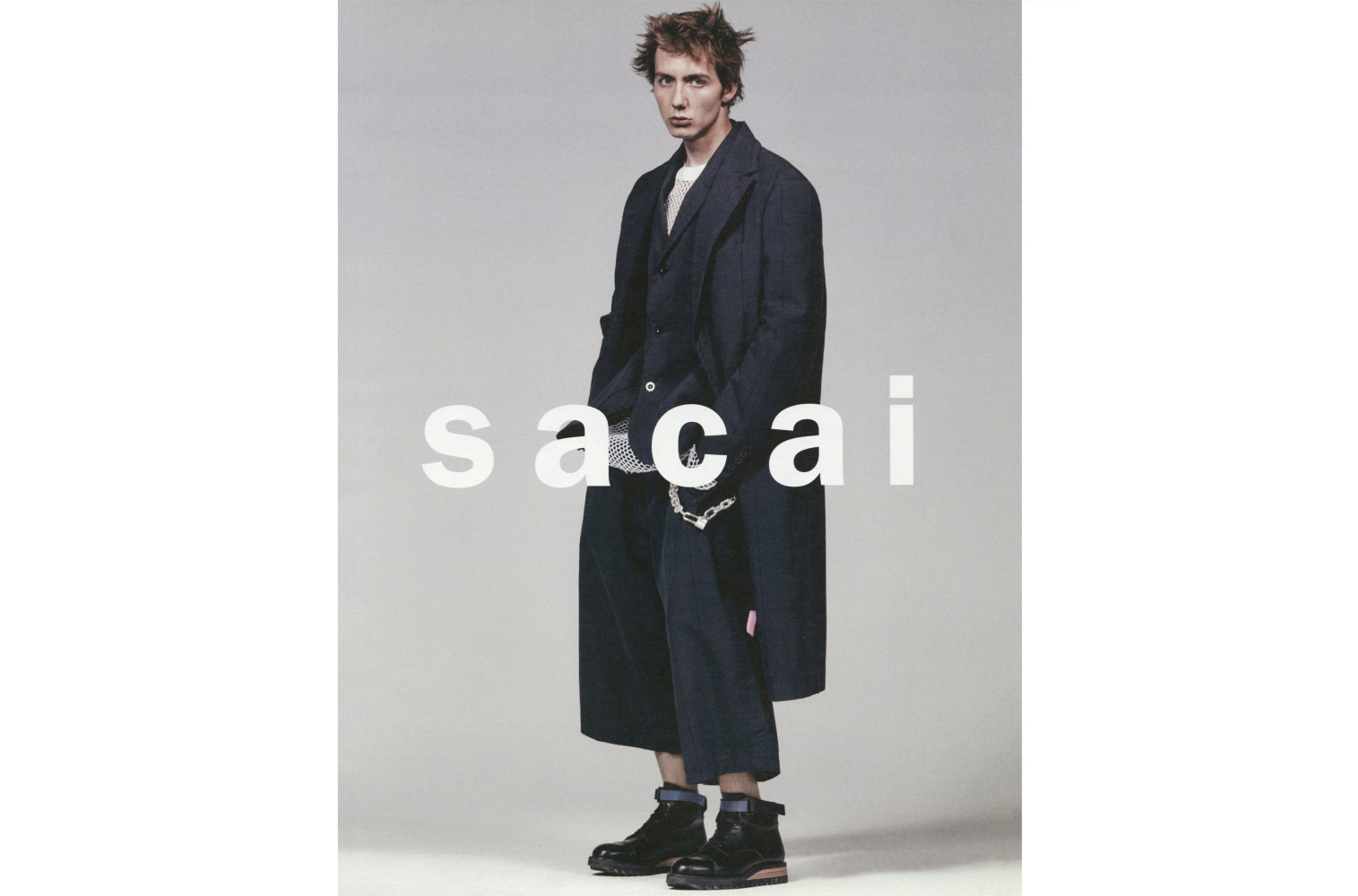Sacai SS17 campaign