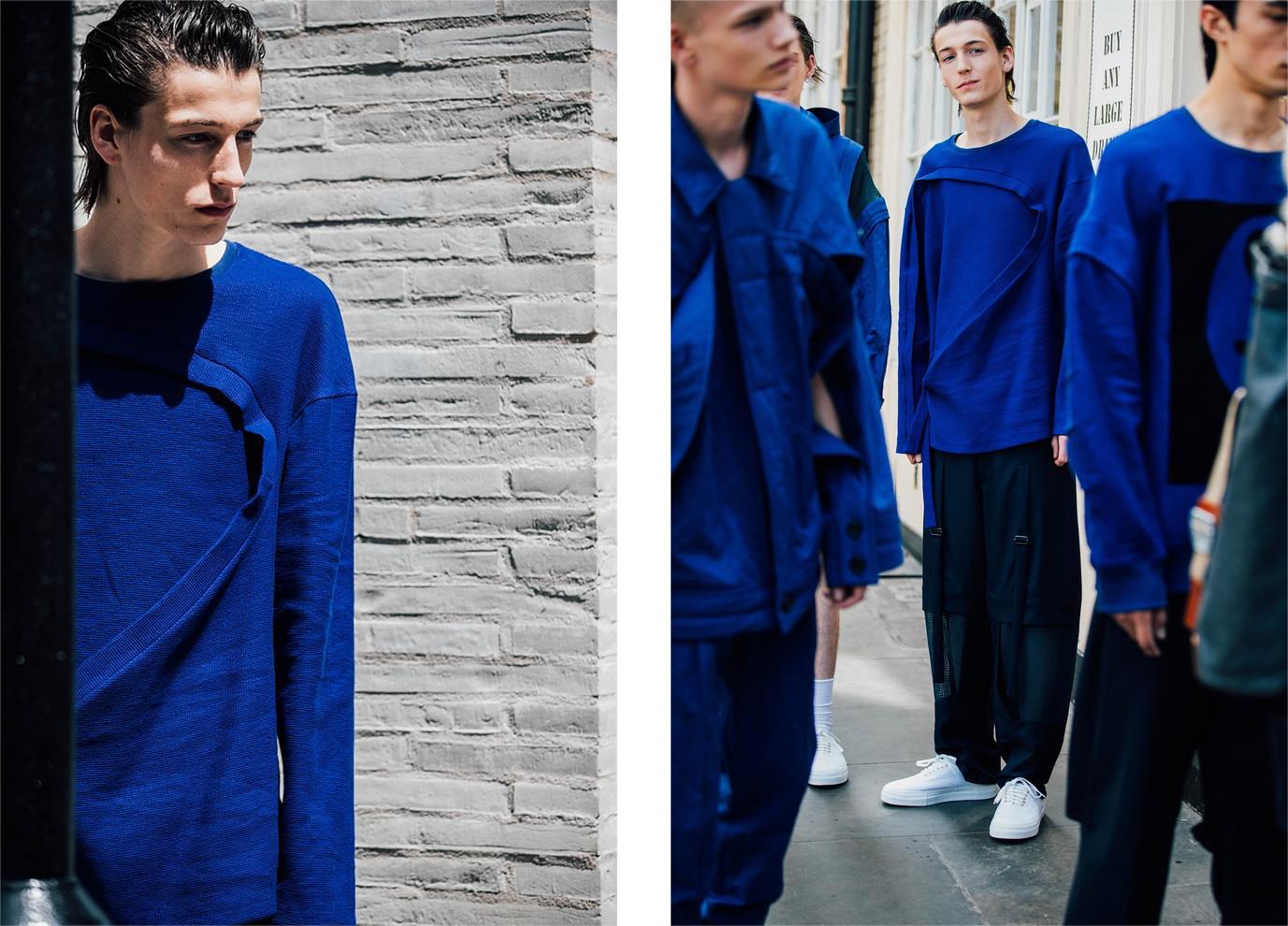 London Fashion week SS18 street style