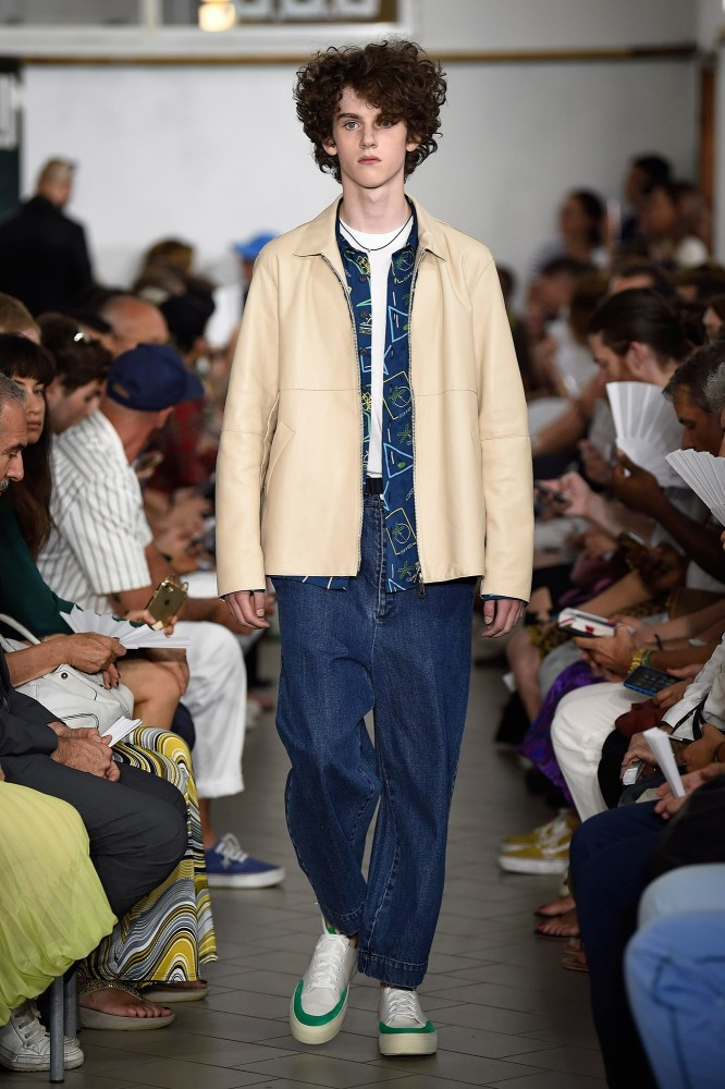 Sunnei SS18 fashionshow