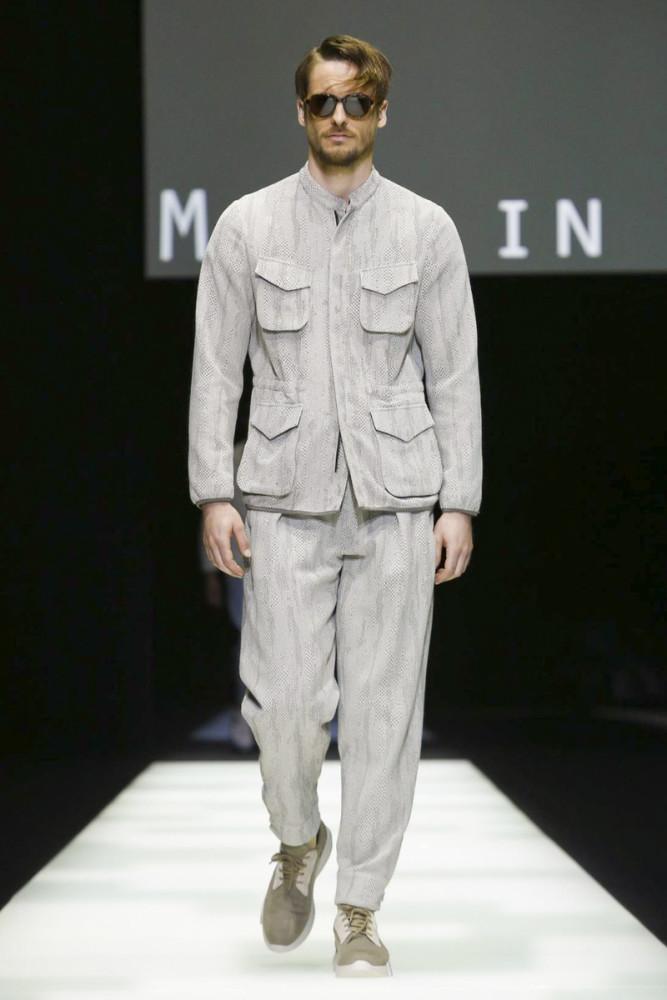 Giorgio Armani SS18 fashionshow