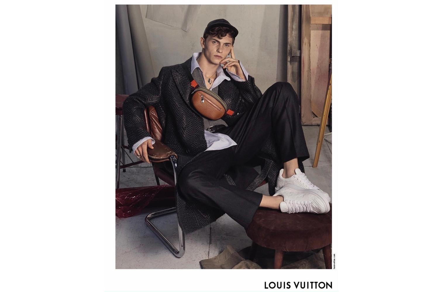 Louis Vuitton FW18 campaign