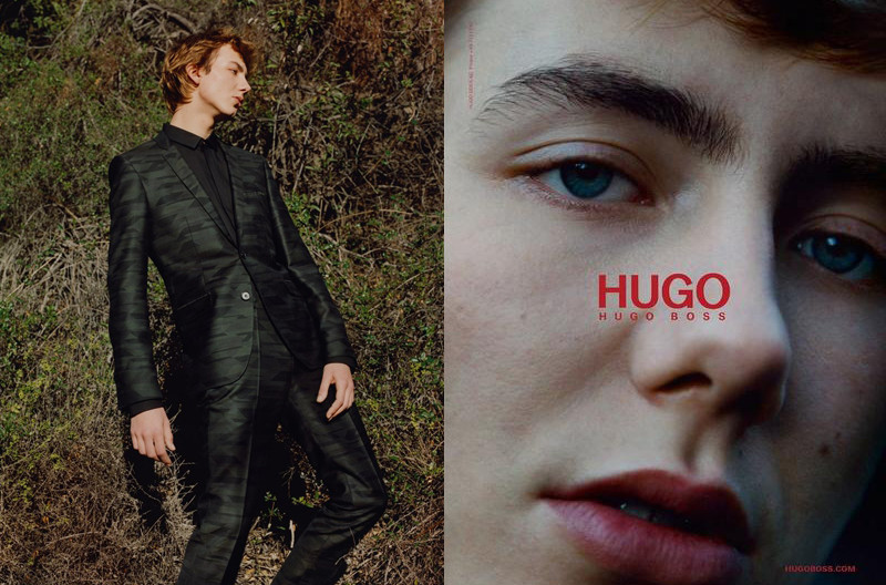 Paul Hameline for Hugo by Hugo Boss FW2107 campaign