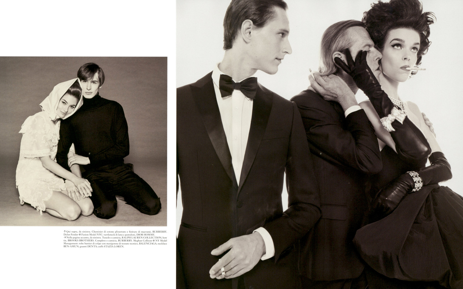 Vogue italia Steven Meisel