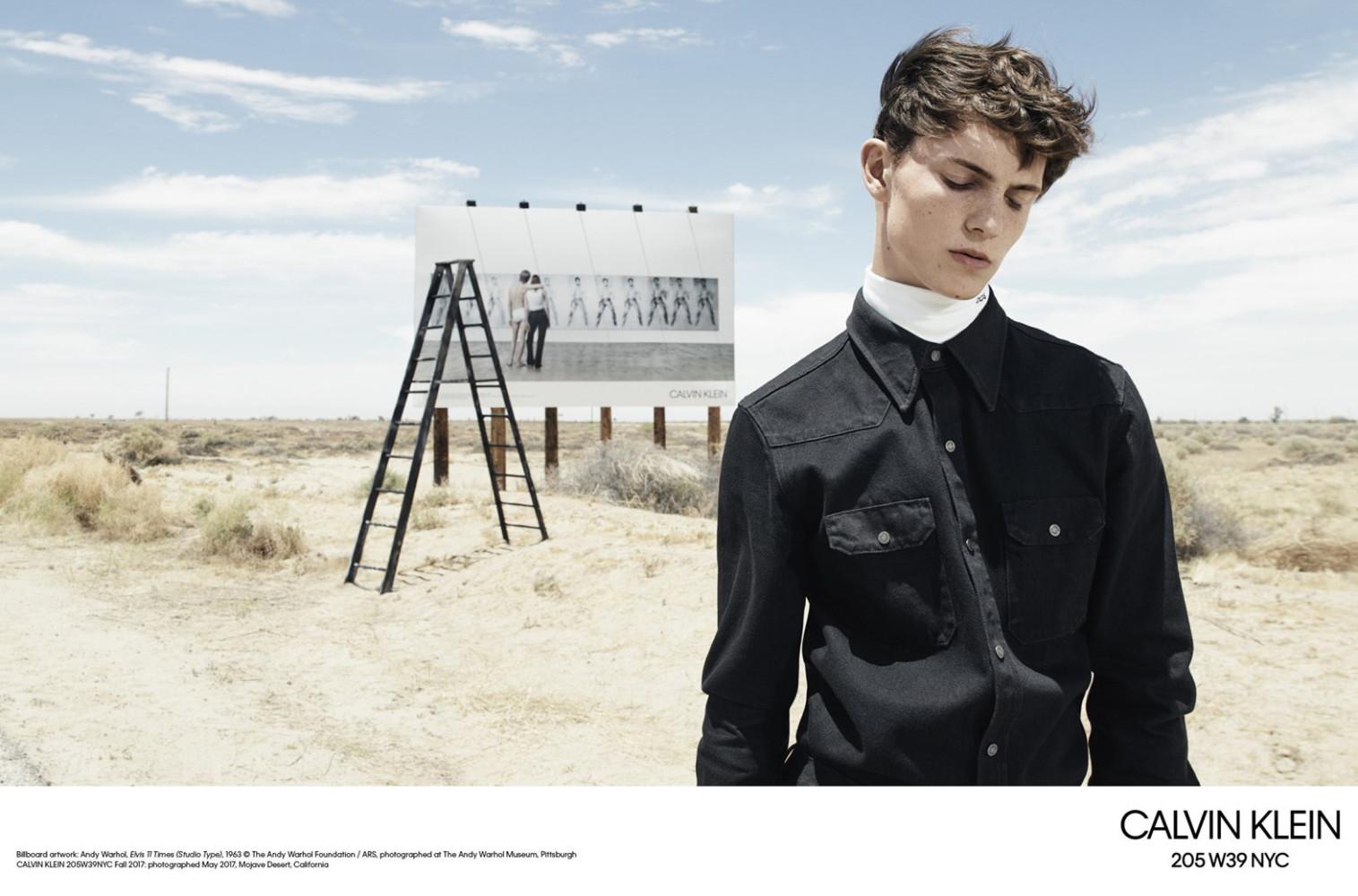 Calvin Klein 205W39NYC FW2017 campaign