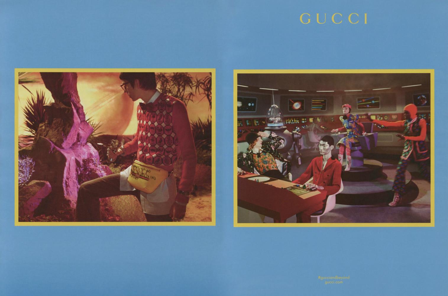 Gucci FW1718 campaign