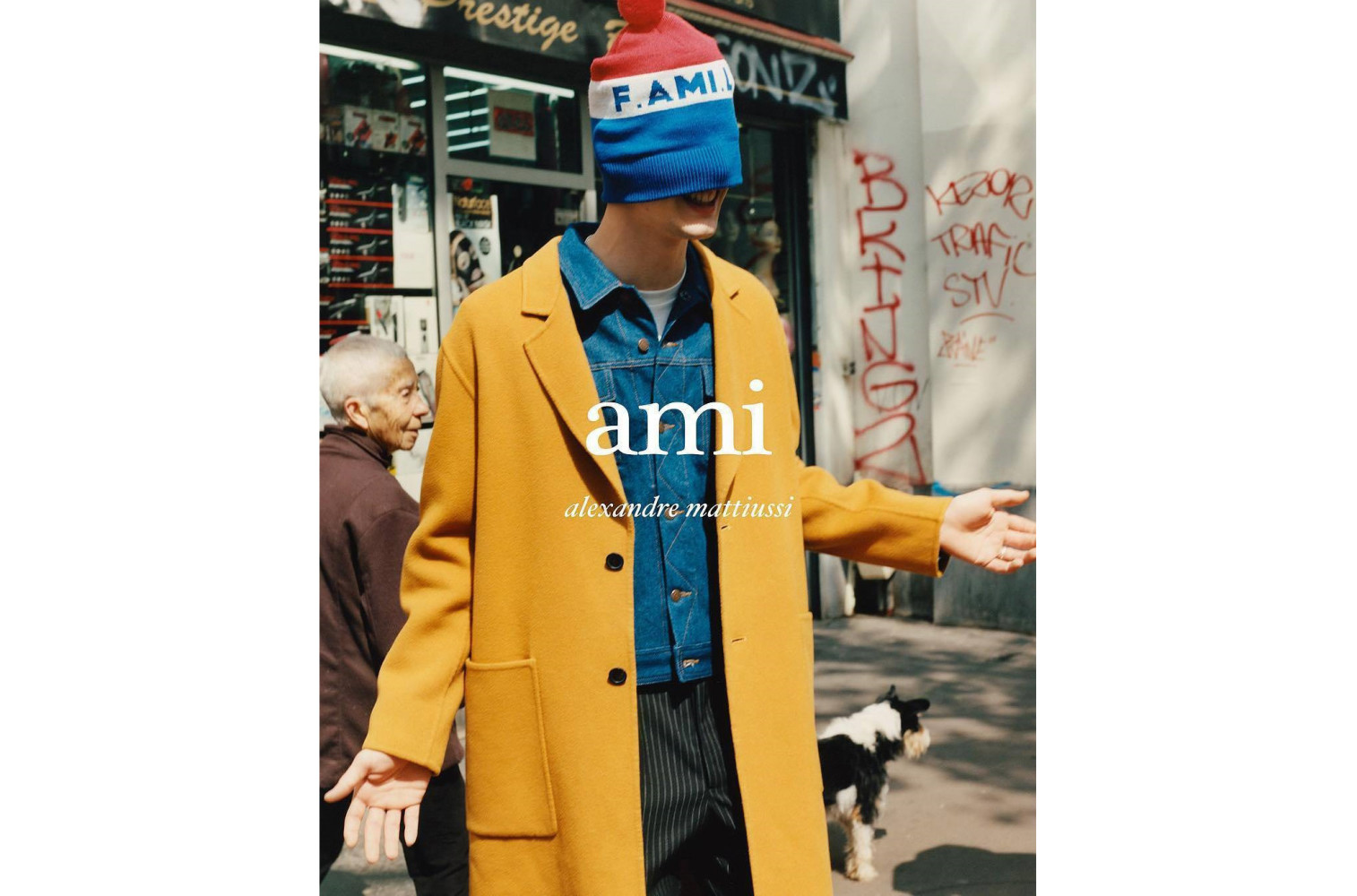 Anis Ayoub for AMI FW17 campaign