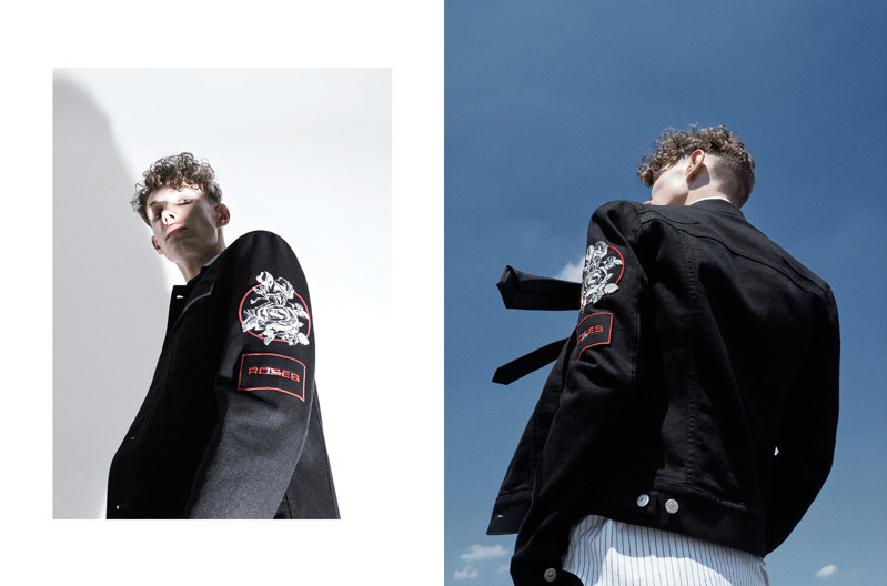 Ellis Kennedy for Dior Homme spring 2018