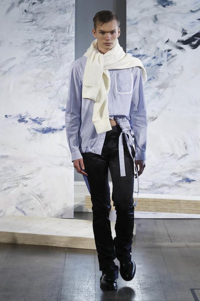 Daniel W Fletcher FW2018 fashionshow