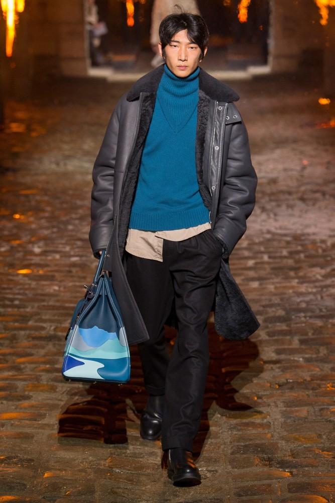 Hermes FW18 fashion show Paris men
