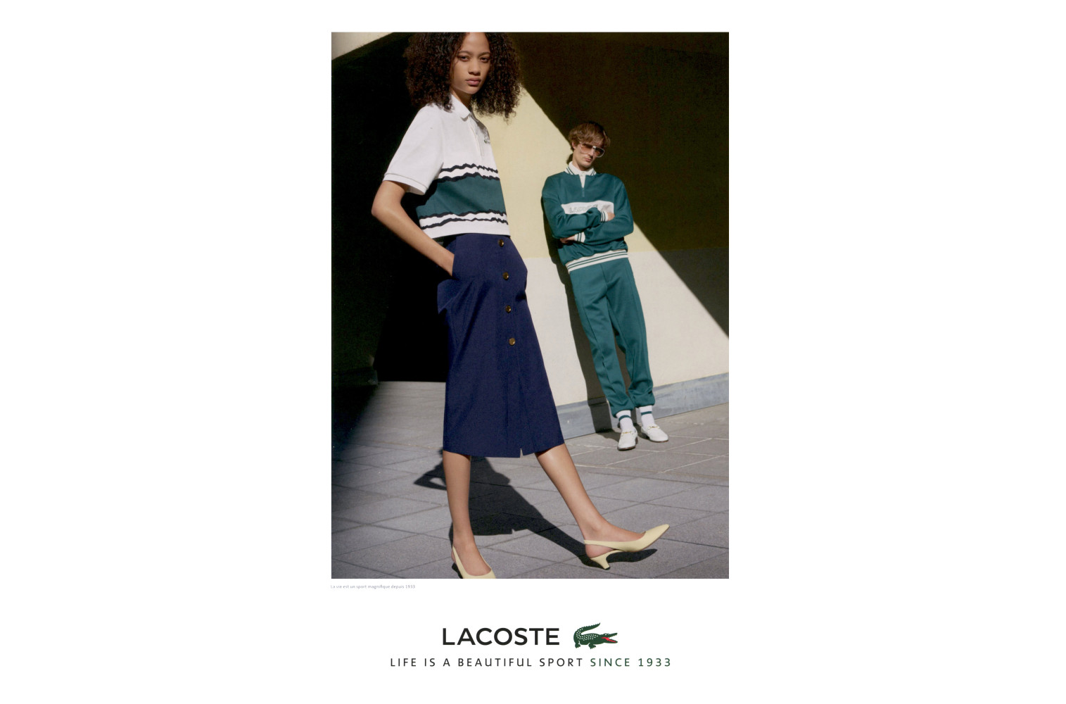 Lacoste SS18 campaign