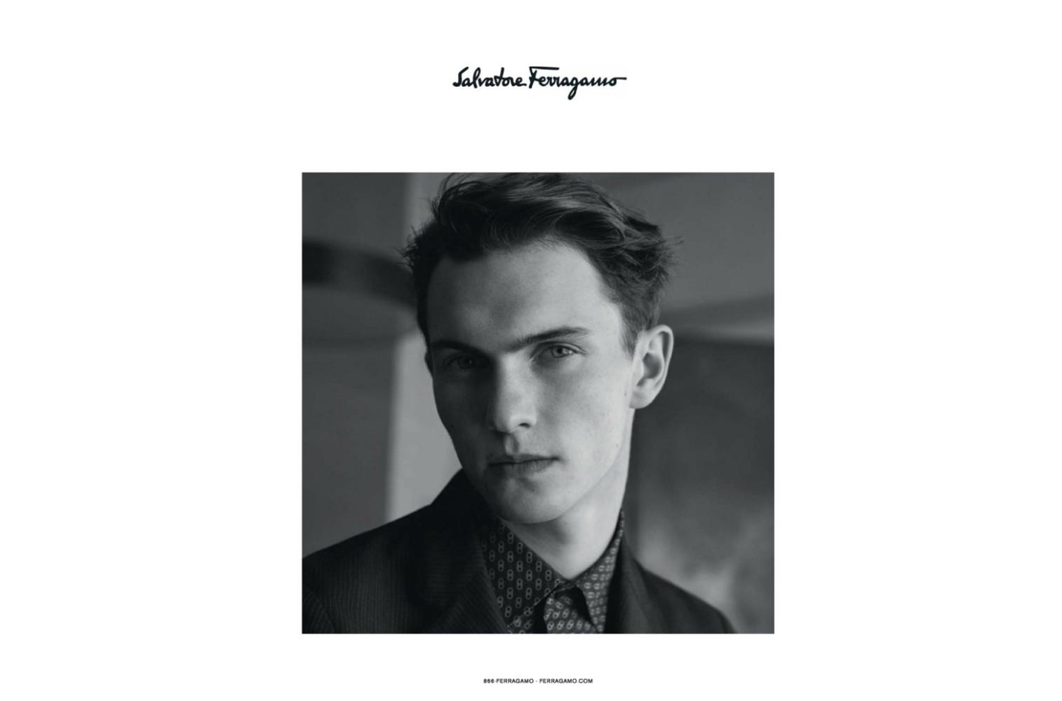 Luc Defont for Salvatore Ferragamo SS18 campaign