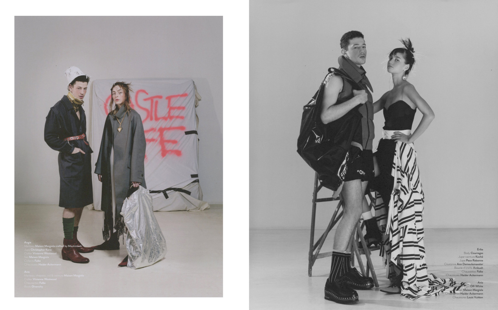 Anis Ayoub and Angie Sherbourne for Dedicate Magazine