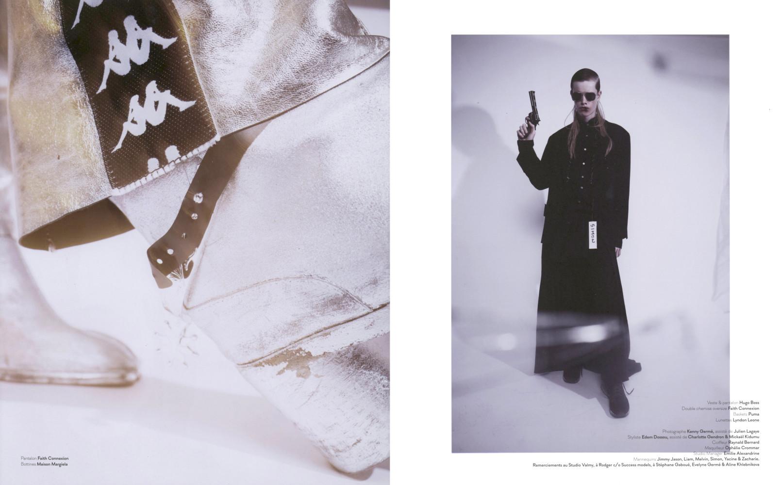 Zacharie Villot Melvin Bernier Simon Muchardt Yacine Keita for Dedicate Magazine