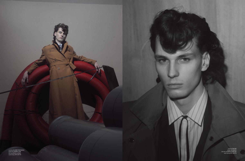 Matthieu Villot for Rain Magazine SS18
