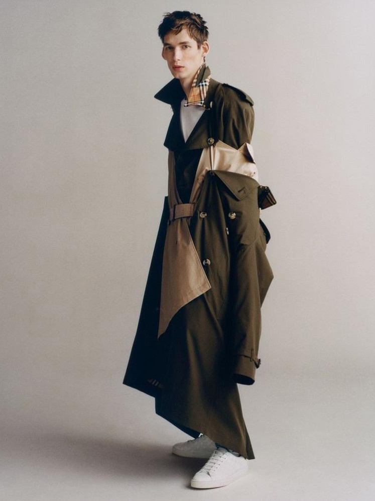 Burberry men trench coat collection
