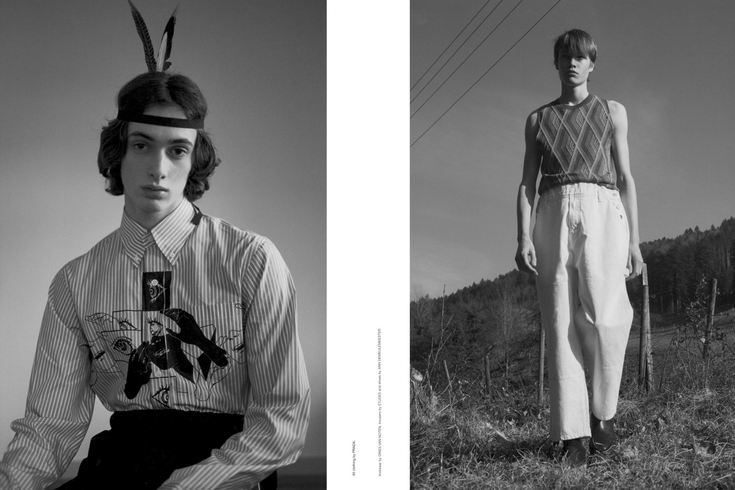 Gustave Khaghany and Simon Muchardt for Man About Town SS18