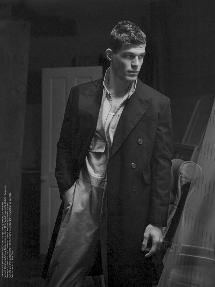 Bertold Zahoran for Man About Town SS18