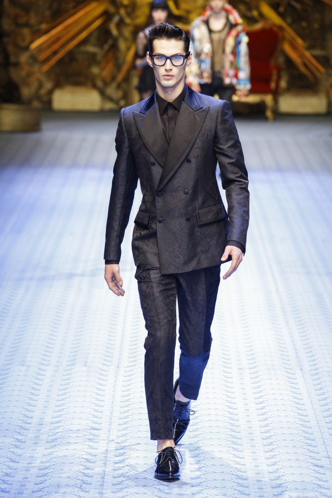 Dolce And Gabbana Fashion Show  Men