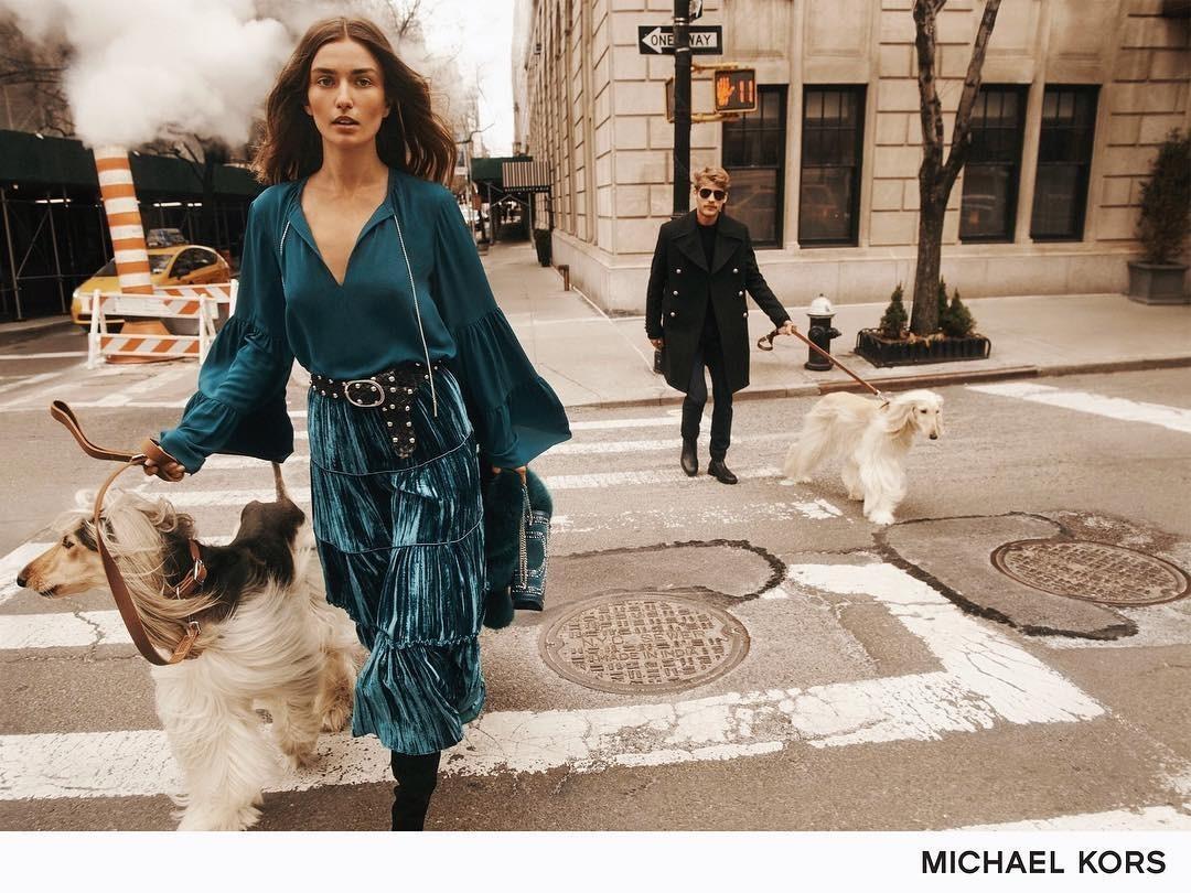 Michael Kors FW18 campaign