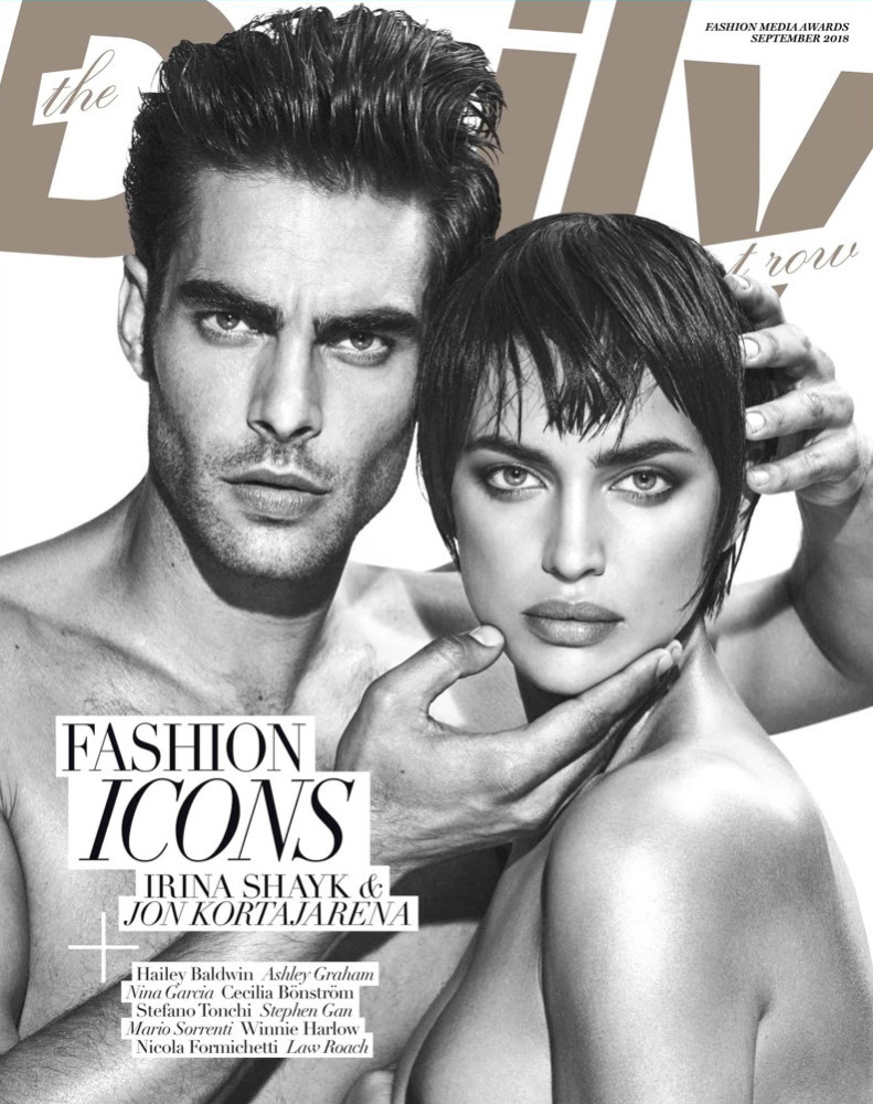 Jon Kortajarena for The Daily Front Row Cover September 2018