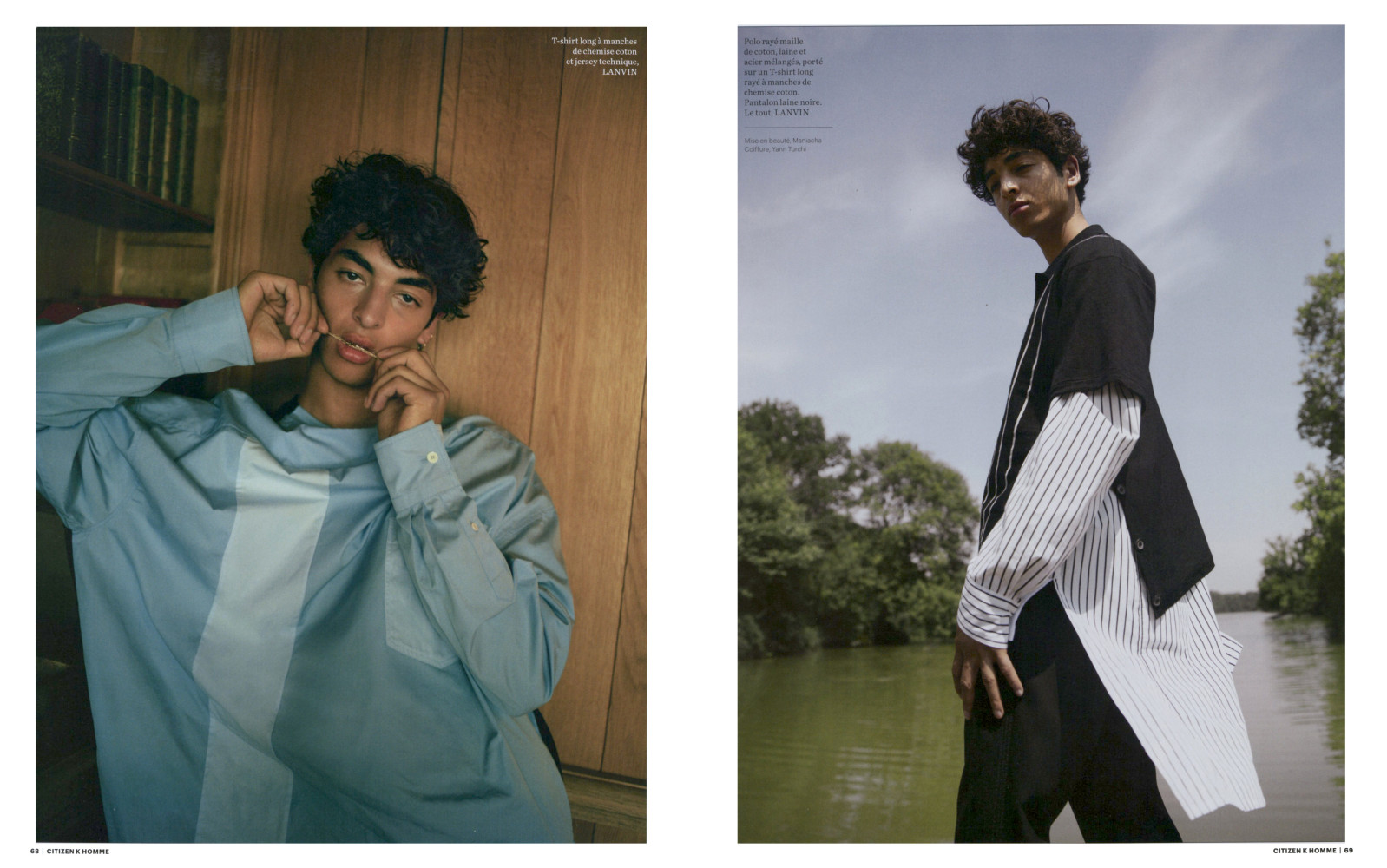 Teo Abihdana for Citizen K Homme issue 20