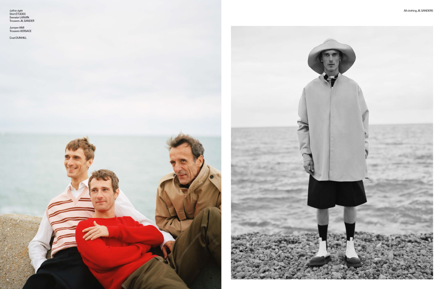 Clement Chabernaud and family for Man About Town