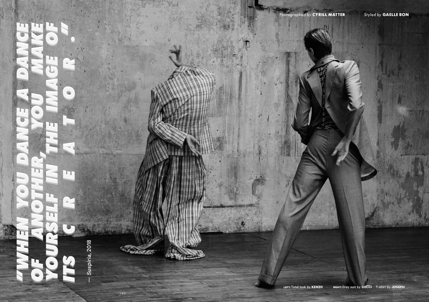 Adrien Dantou for Essential Homme Spring 2019