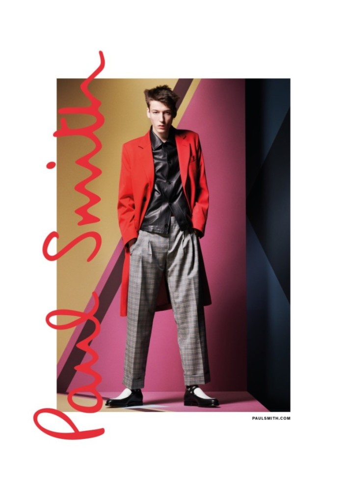 Paul Smith Spring Summer 2019 campaign