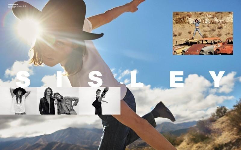 Sisley SS19 campaign