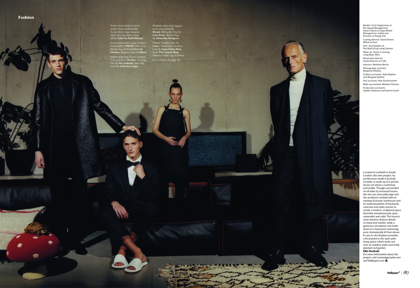 Xavier Gibson for Wallpaper Magazine Febuary 2019