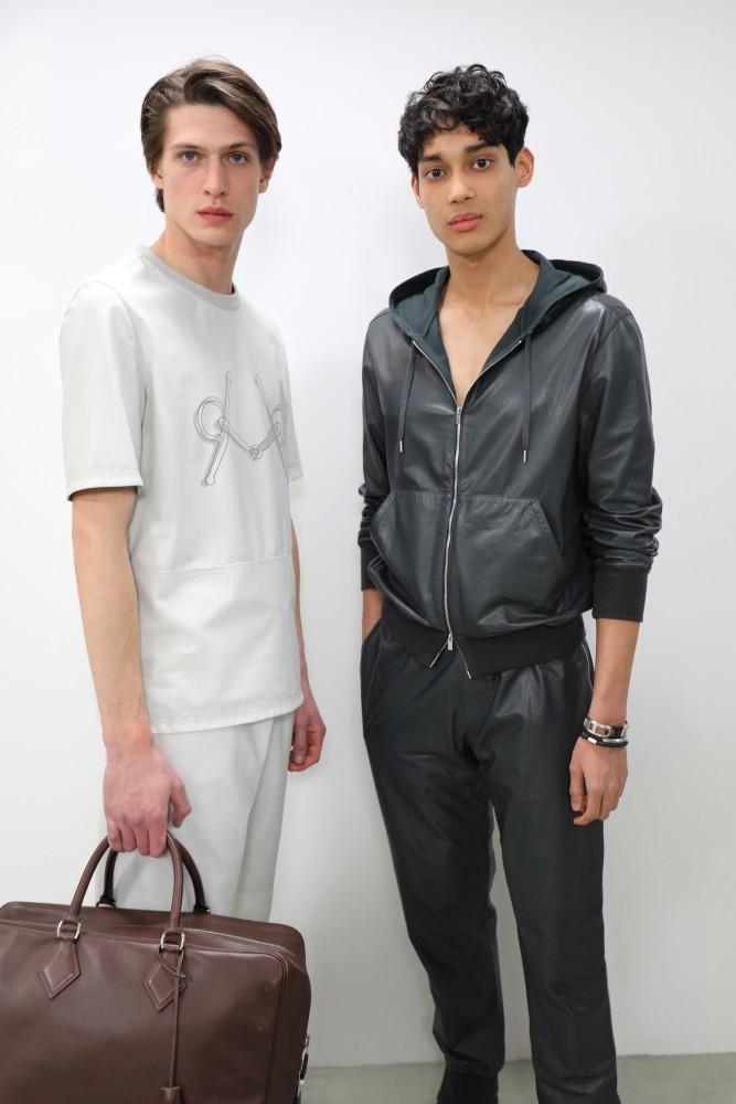 edoardo sebastianelli Hermès SS19 fashion show