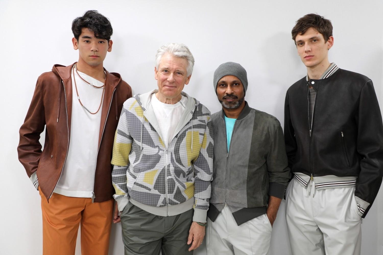 uto uchida Hermès SS19 fashion show