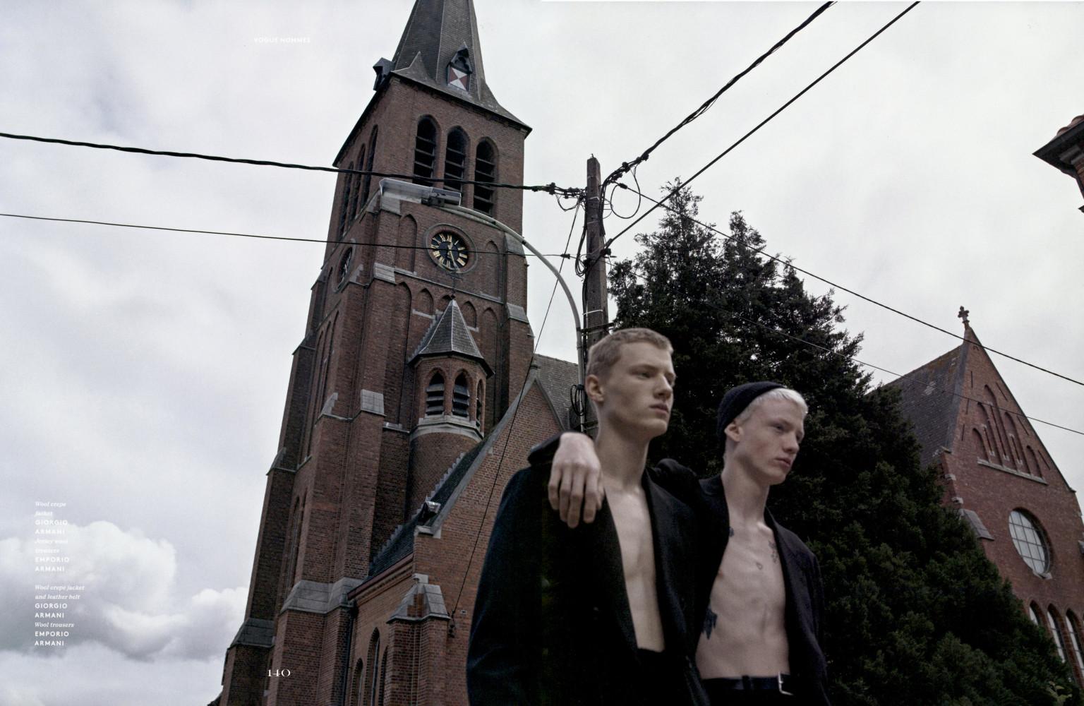 Vogue Hommes Braien Vaiksaar and Malick Bodian