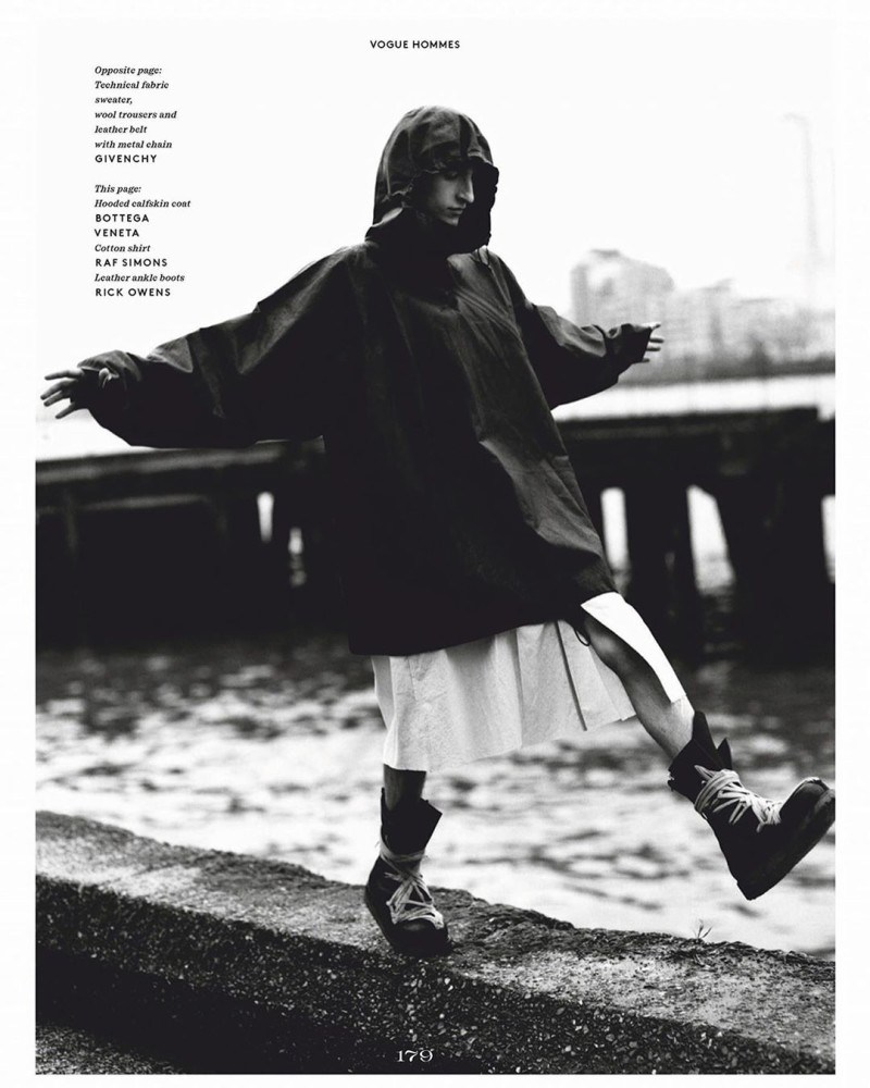 Theodor Pal for Vogue Hommes march 2020