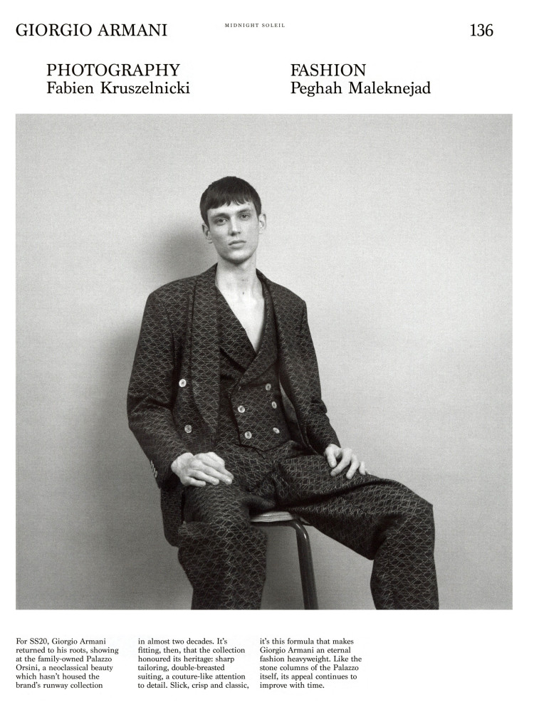 Xavier Gibson for Hero Magazine