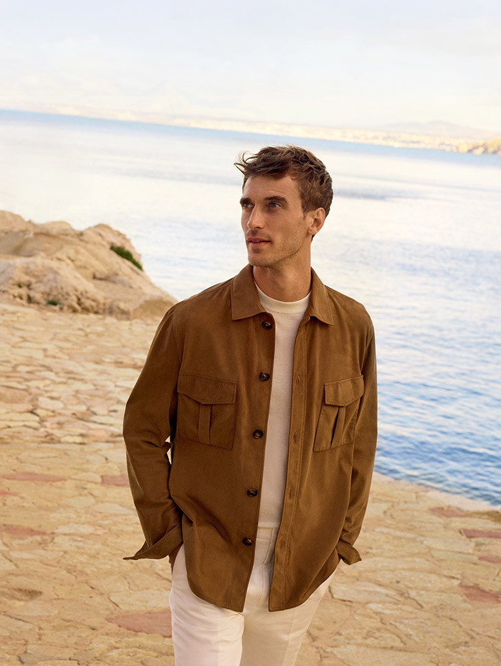 Clement Chabernaud for Loro Piana SS20 Campaign