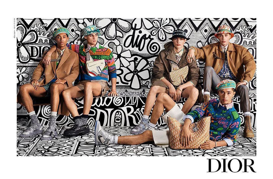 Max Wechter by Steven Meisel for Dior Pre Fall 2020 Campaign