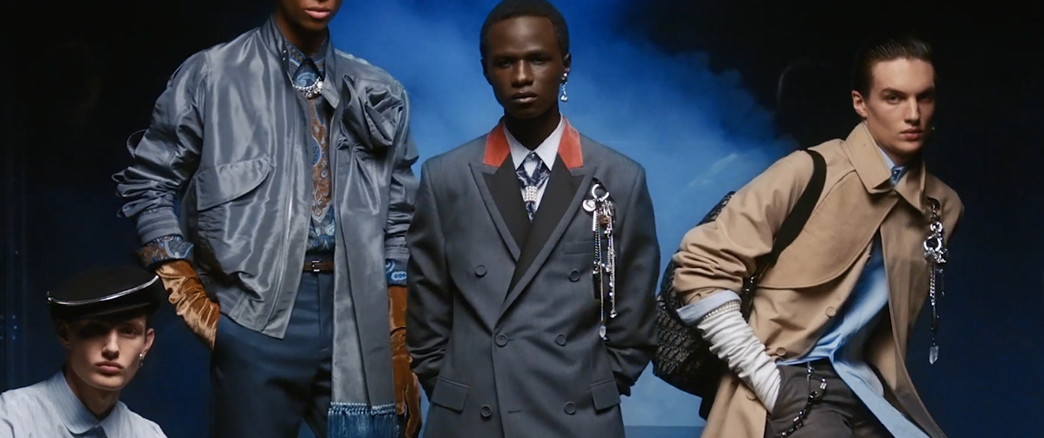 DIOR HOMME - CAMPAGNE AUTOMNE/HIVER 2020.21