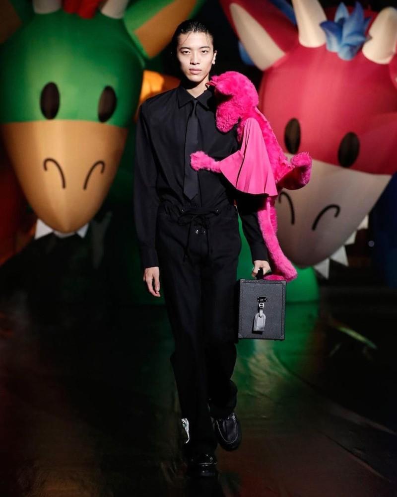 Akito Mizutani for Louis Vuitton SS21  Show