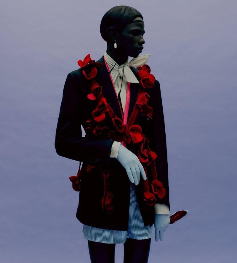 Malick Bodian for Vogue Homme