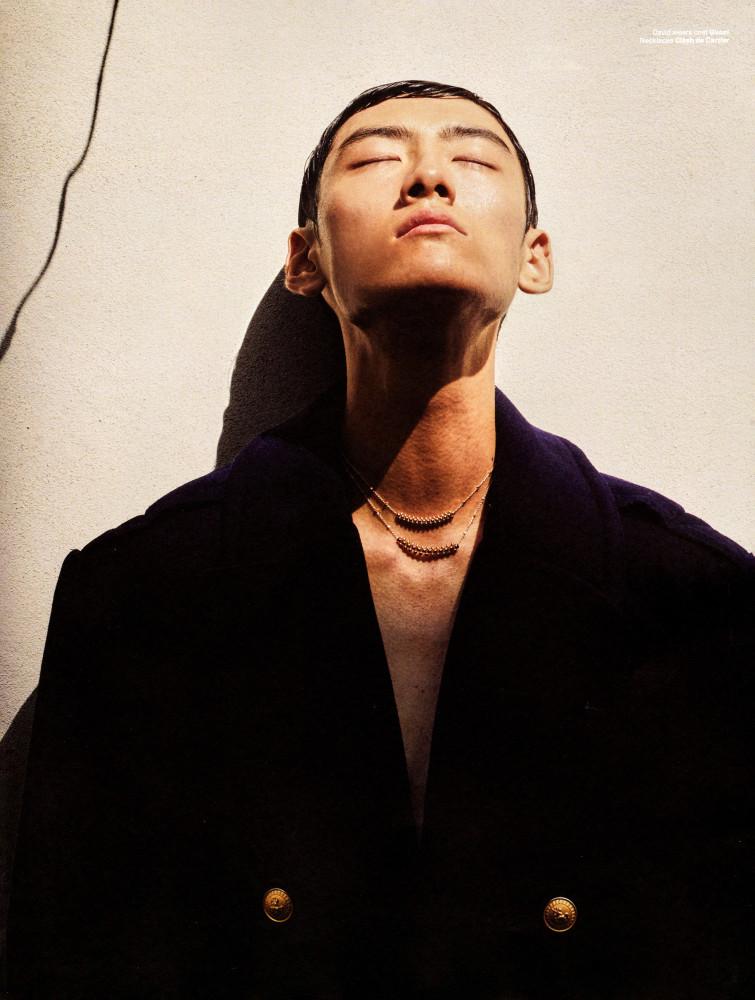 David Ge by Malick Bodian VMAN Magazine