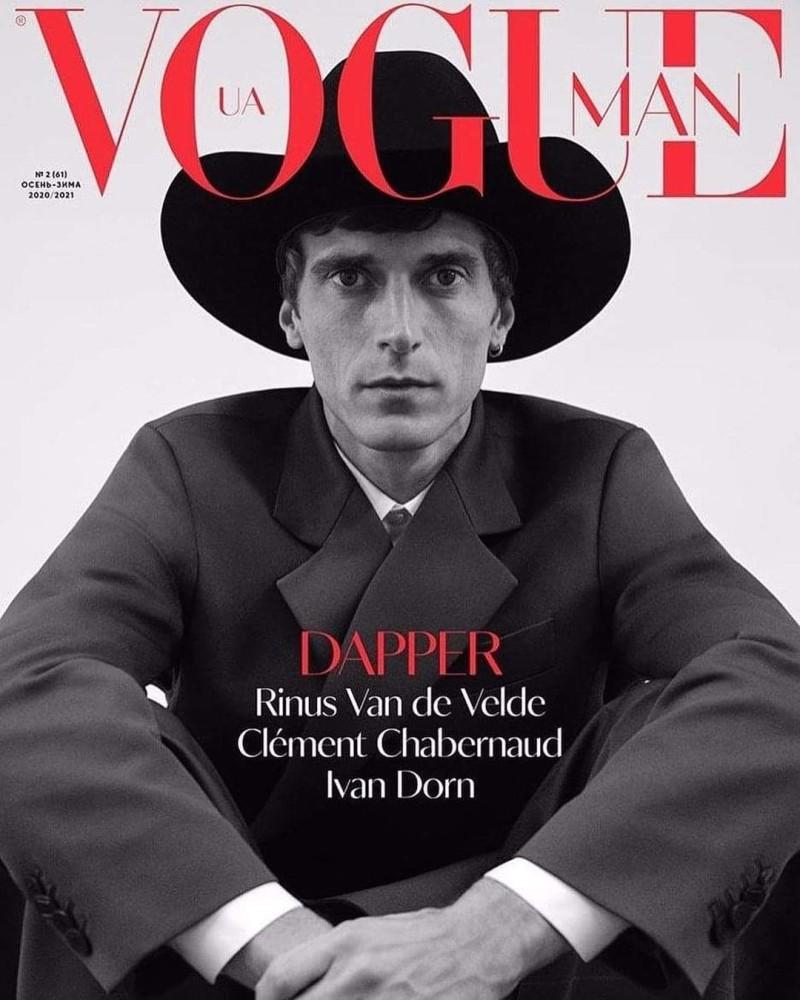 Vogue Man Ukraine FW2021 Clement Chabernaud