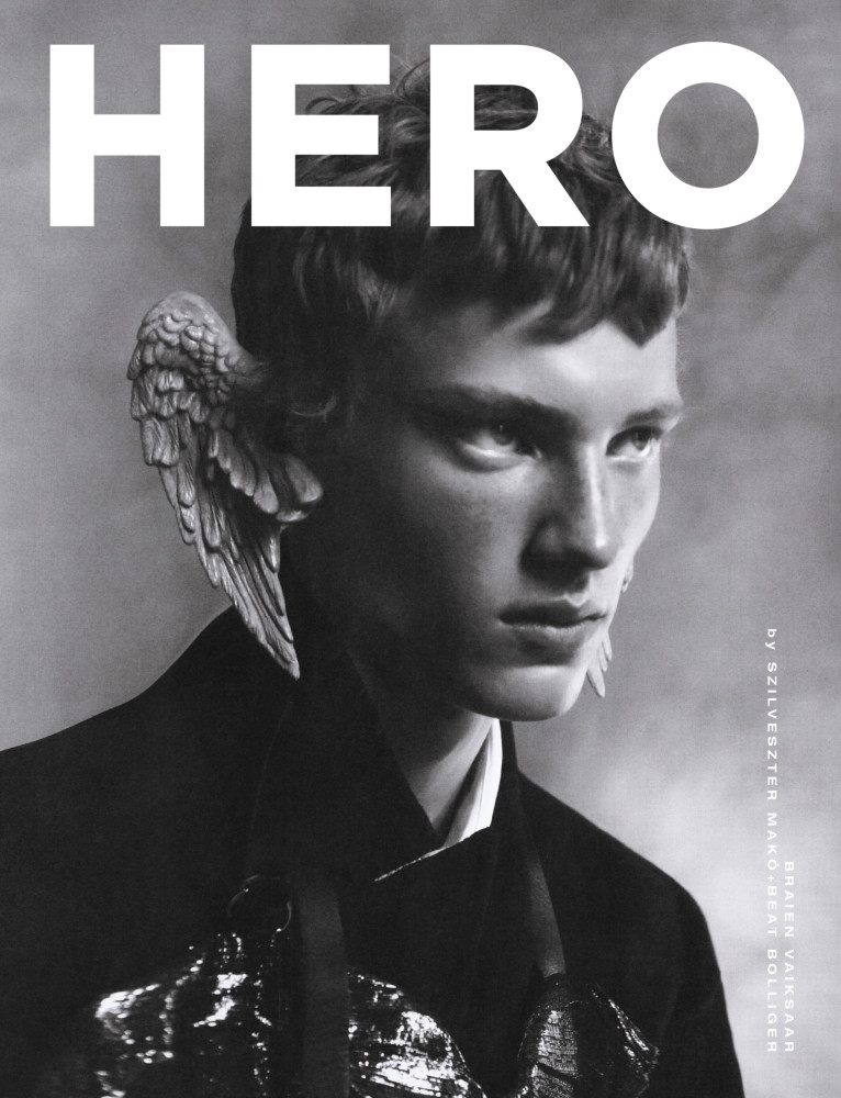 Braien Vaiksaar for Hero Magazine Cover