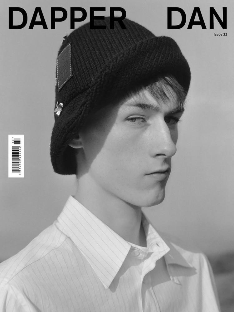 Zacharie Villot Dapper Dan Magazine Cover