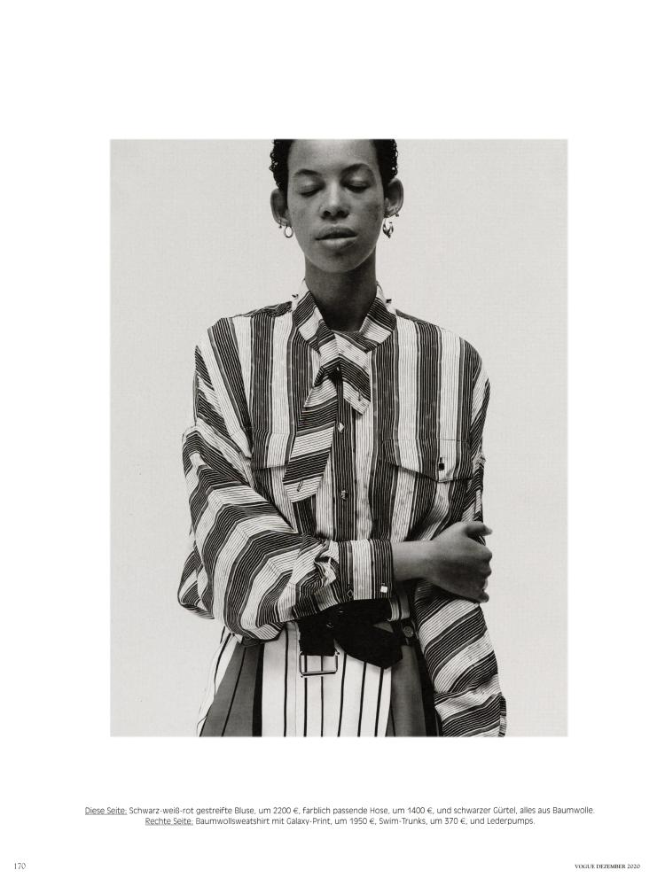 Sara Cardoso for Vogue Germany
