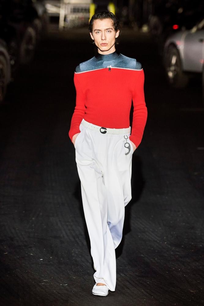Paul Hameline Coperni fall winter 2021 fashion show paris