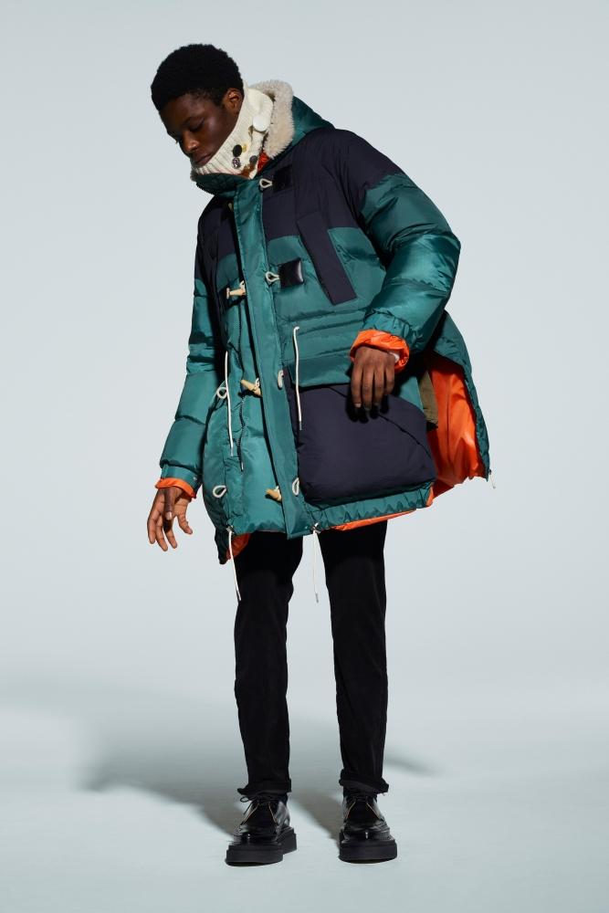 Destiny Imade for Sacai fall winter 2021.22 collection