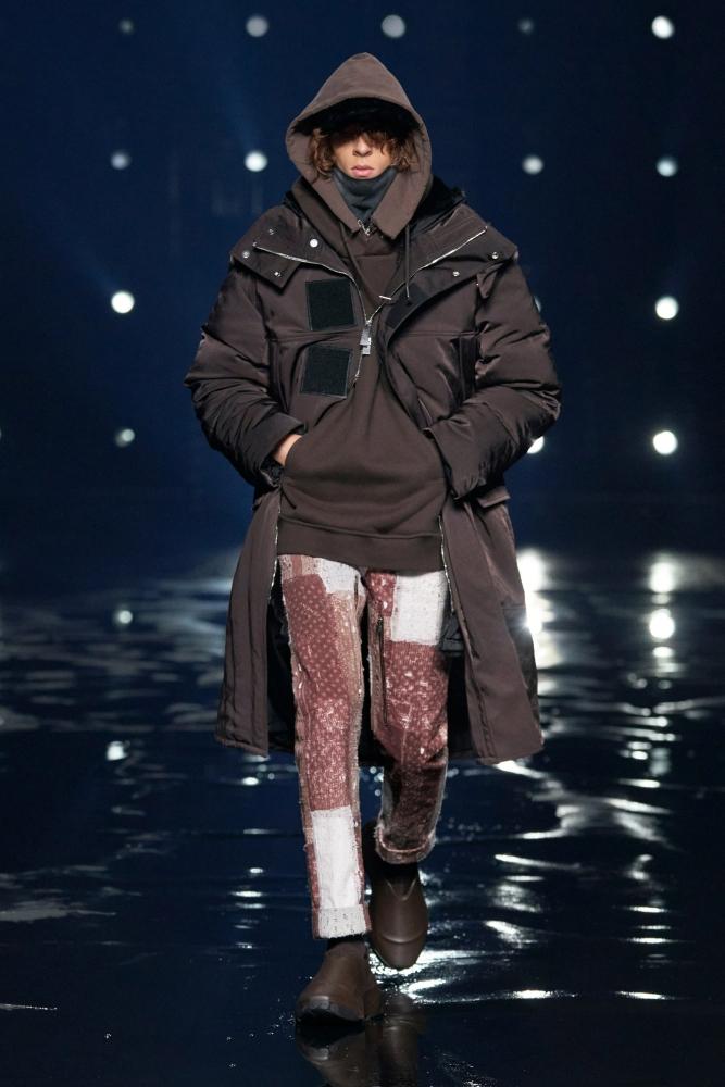 Jules Baco Givenchy fall winter 2021.22 fashionshow