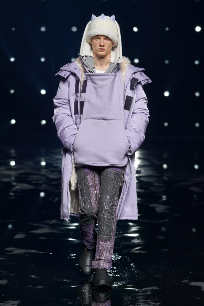 Braien Vaiksaar Givenchy fall winter 2021.22 fashionshow